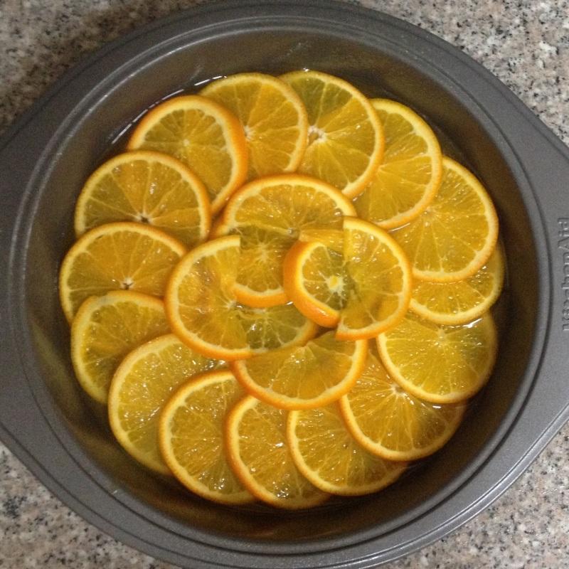 Bolo tangerina 1
