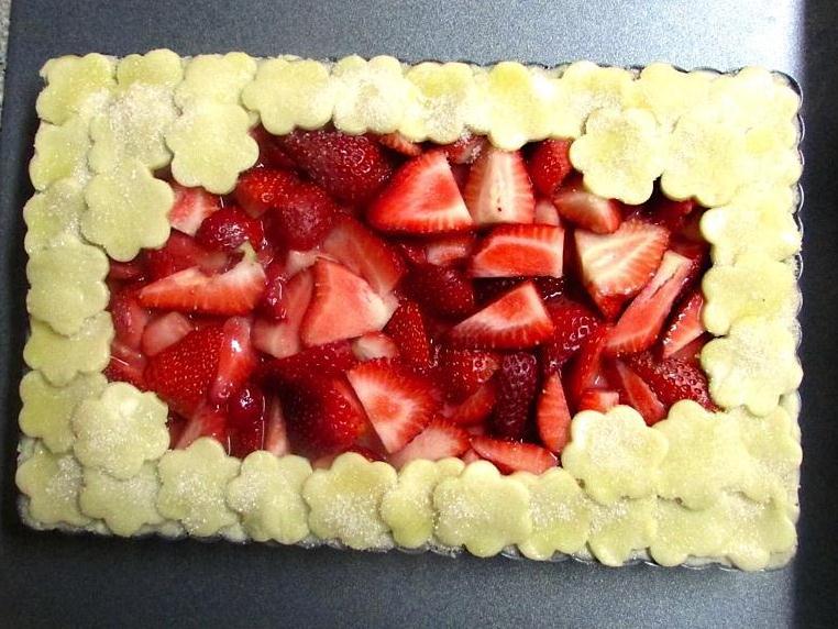 Torta Morango 11