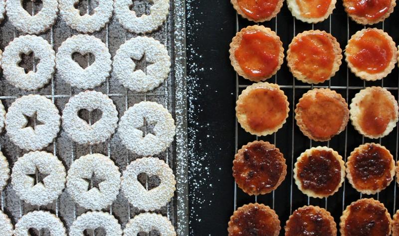 Biscoitos Linzer 11