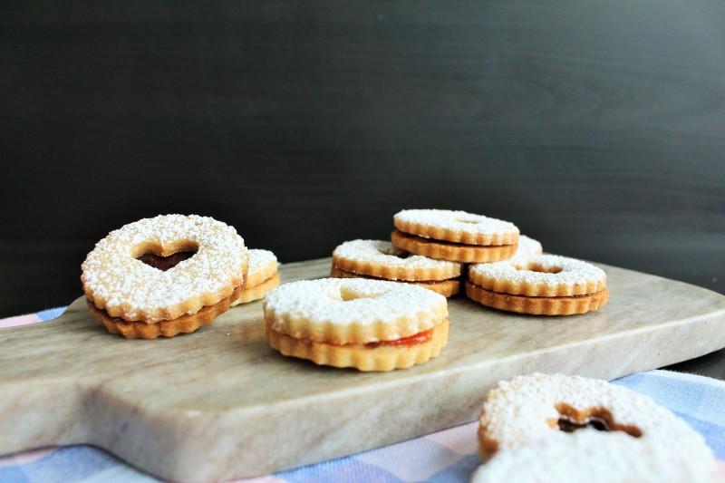 Biscoitos Linzer 15