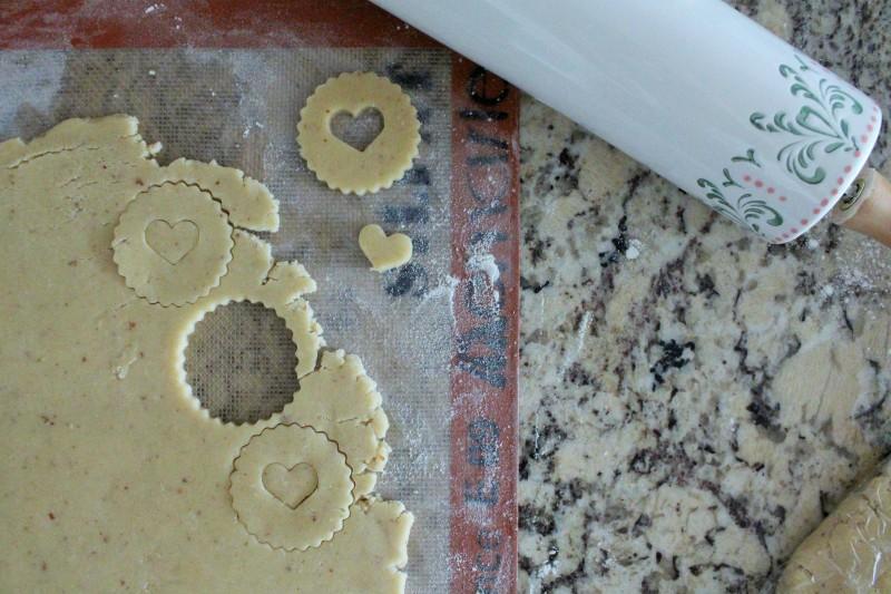 Biscoitos Linzer 4