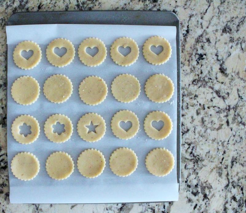 Biscoitos Linzer 5