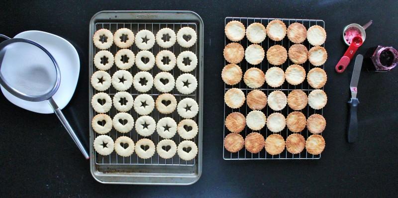 Biscoitos Linzer 7