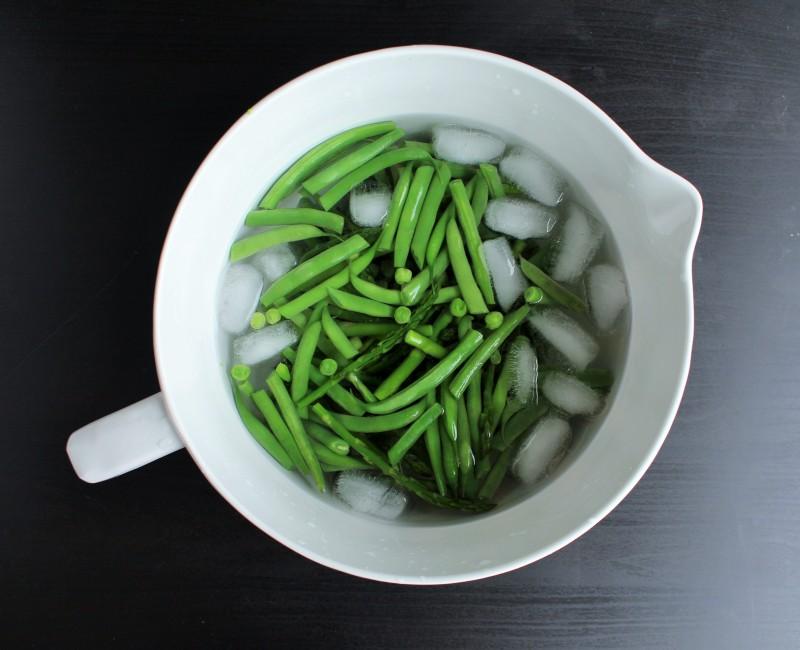 Salada de aspargos vagem e ervilha 3