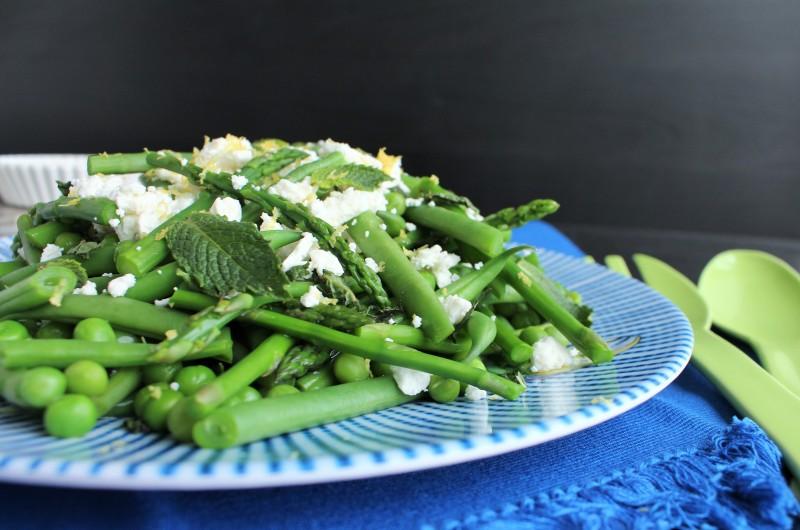 Salada de aspargos vagem e ervilha 5