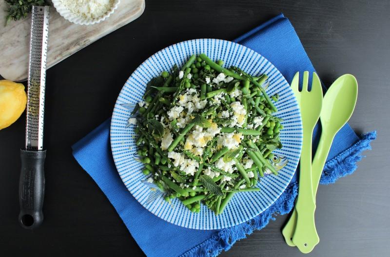 Salada de aspargos vagem e ervilha 7