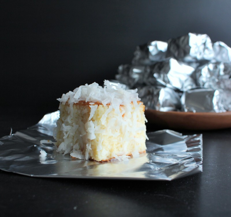 Bolo de coco gelado 9