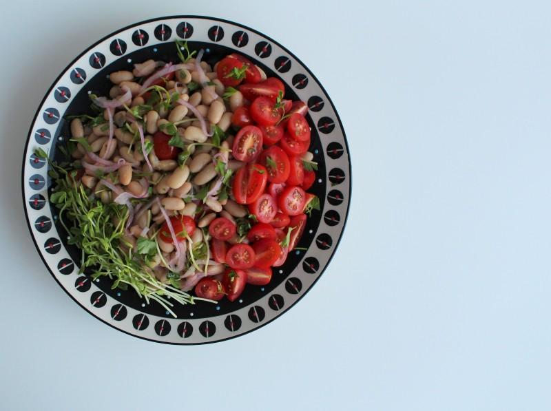 Salada de feijão branco 3