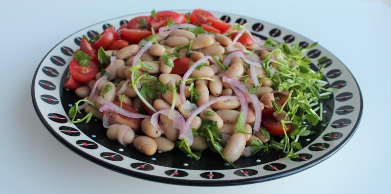 Salada de feijão branco 5