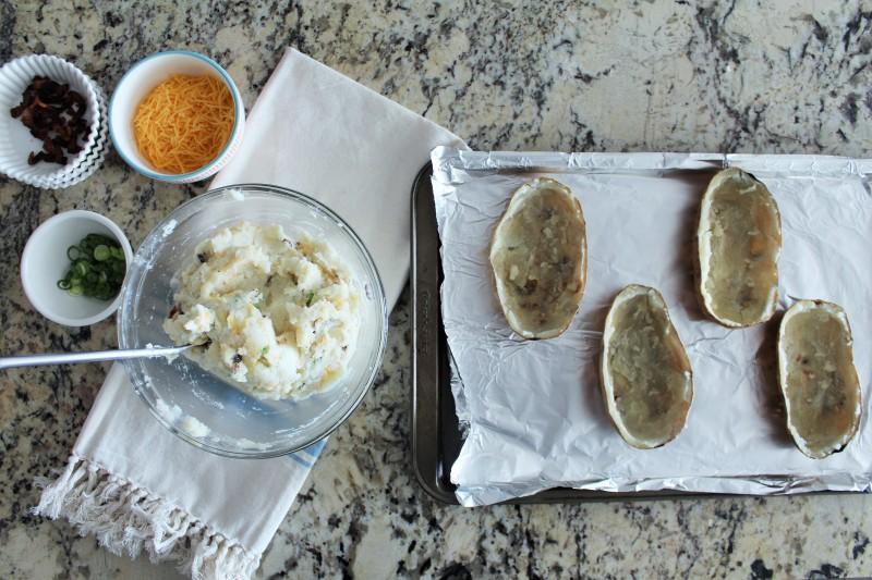 Batatas assadas recheadas 7