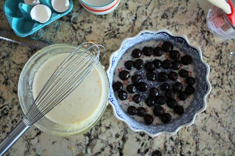 Clafoutis de cereja 2