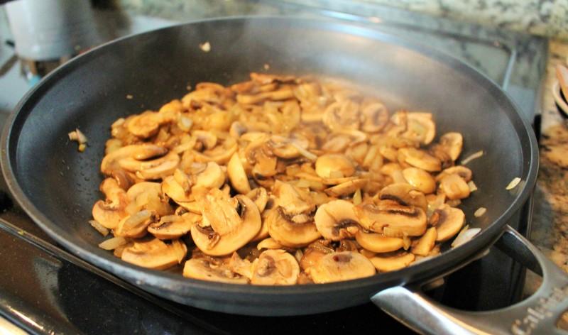 Quinoa com cogumelos 2