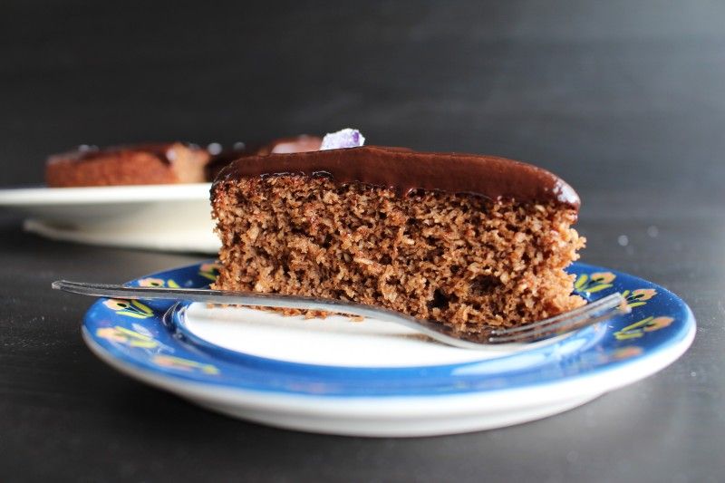 Bolo de chocolate e coco 14