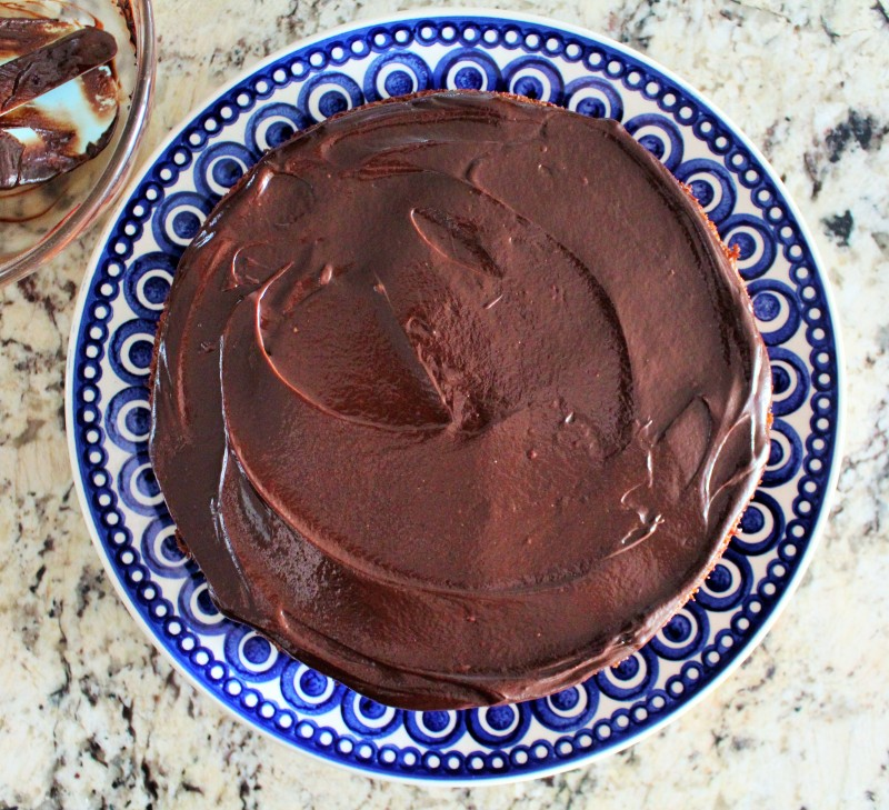 Bolo de chocolate e coco 6