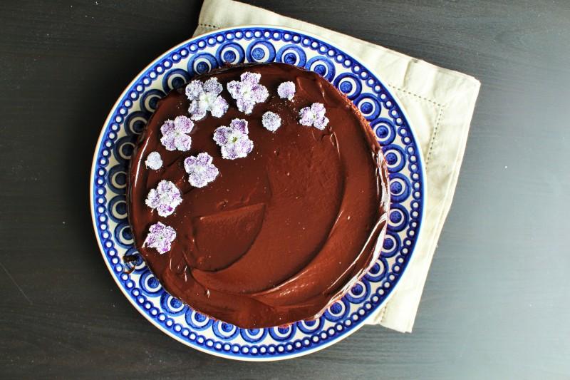 Bolo de chocolate e coco 7