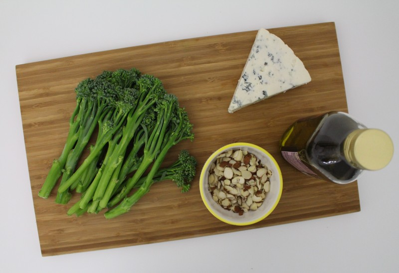 Brócolis com gorgonzola 1