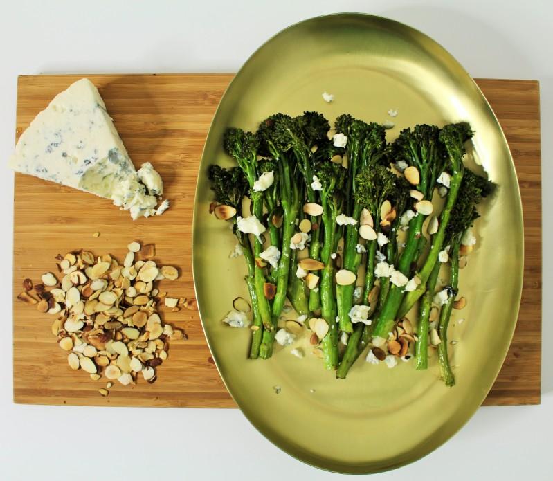 Brócolis com gorgonzola 6