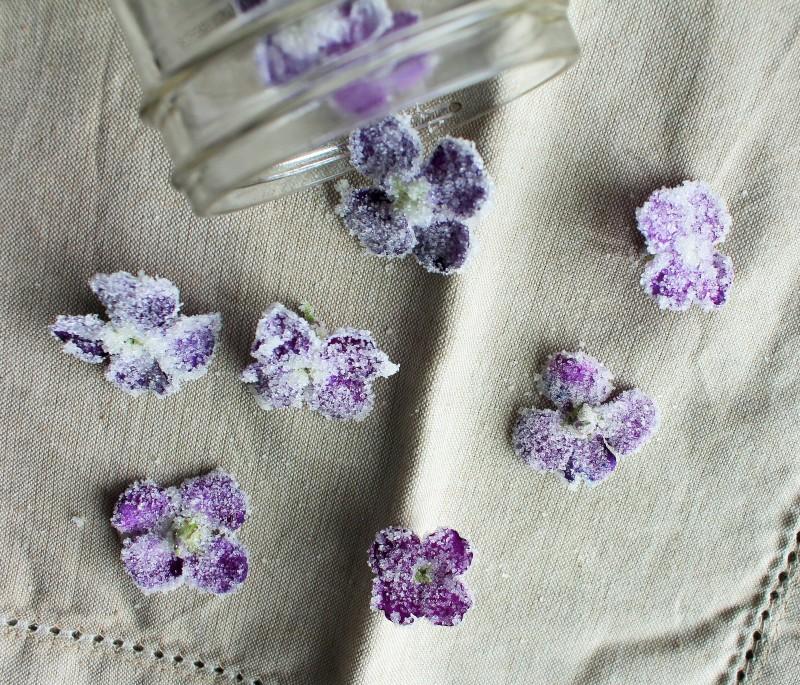 Flores cristalizadas 8