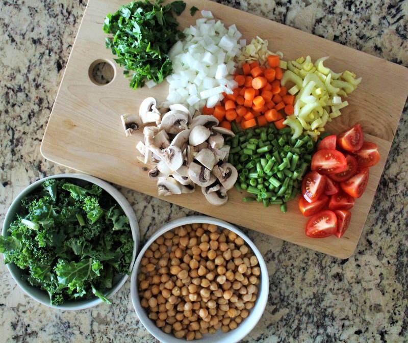 Sopa de vegetais 1