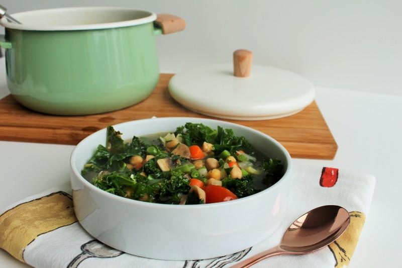 Sopa de vegetais 5