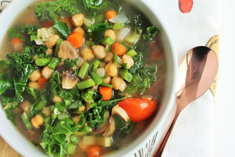 Sopa de vegetais 7