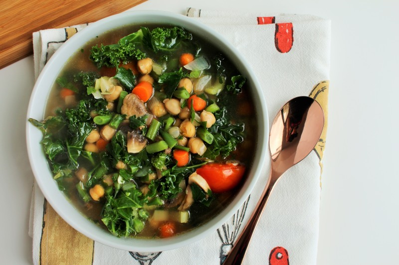 Sopa de vegetais 8