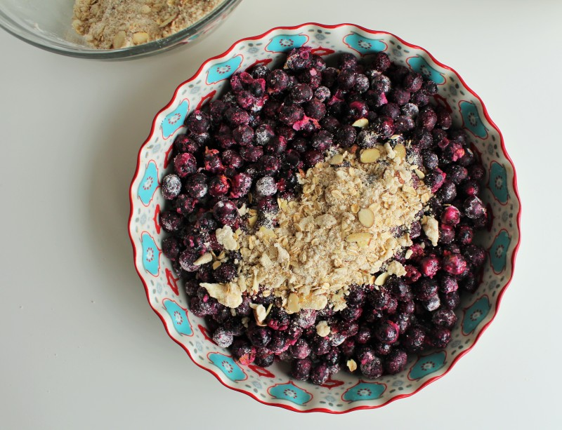Blueberry crisp 5