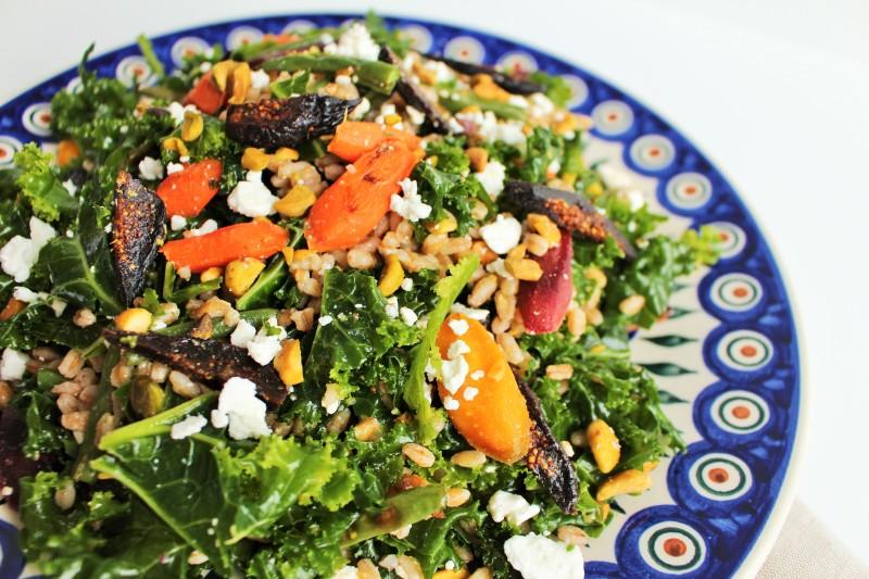 Salada de farro 5