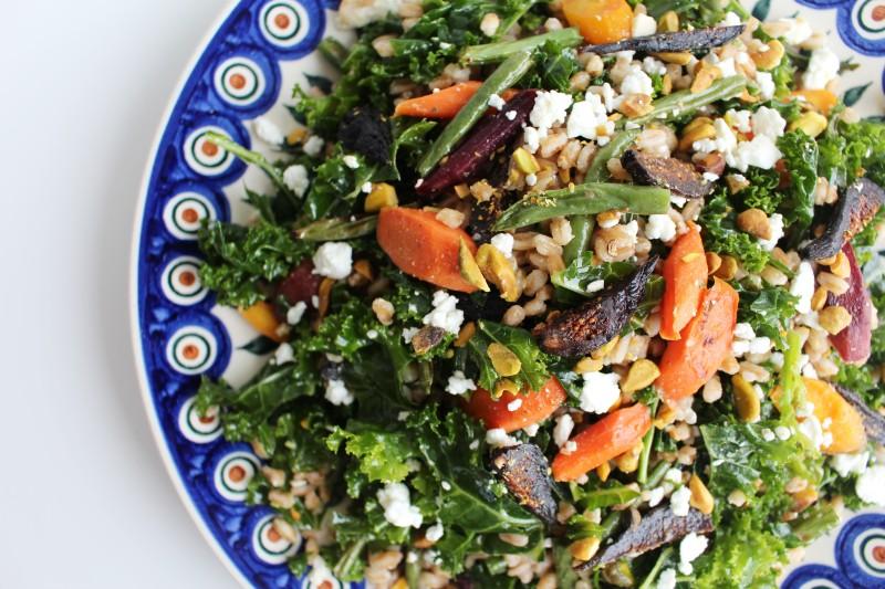 Salada de farro 7