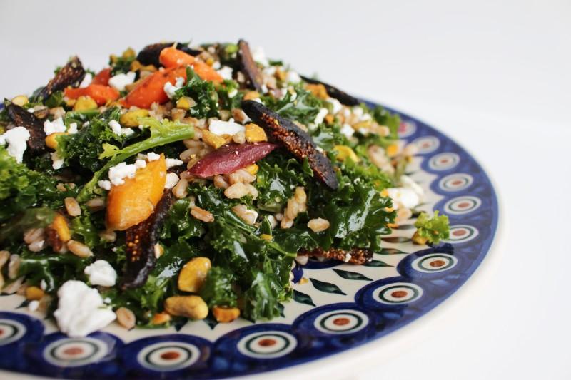 Salada de farro 8