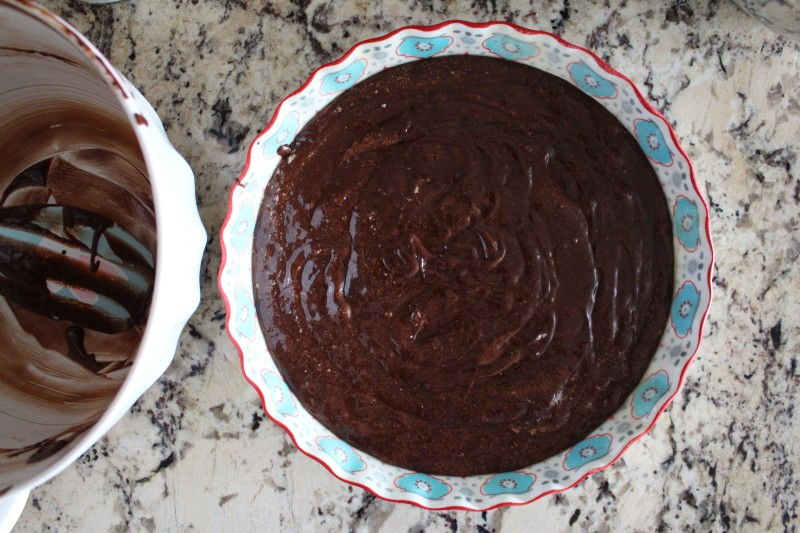 Bolo de chocolate molhado 2