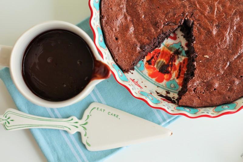 Bolo de chocolate molhado 9