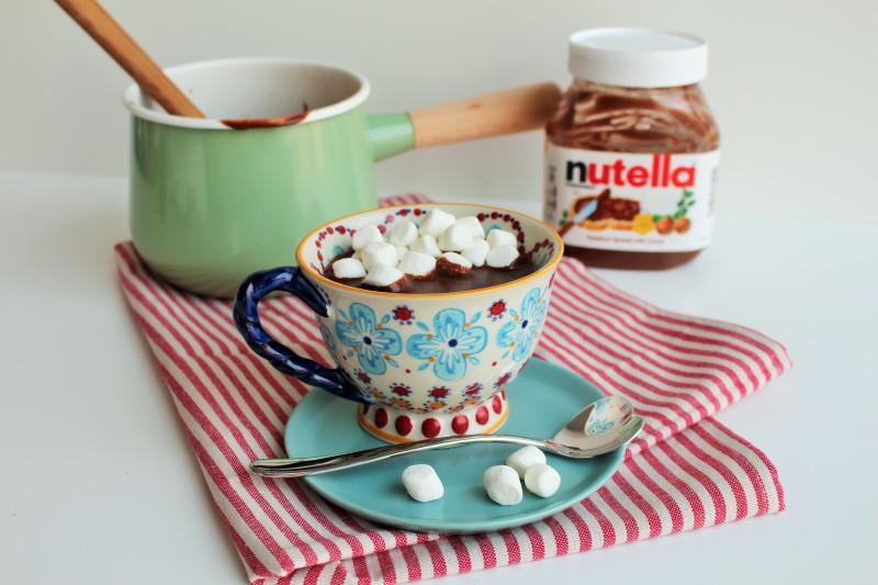 Chocolate quente Nutella 2