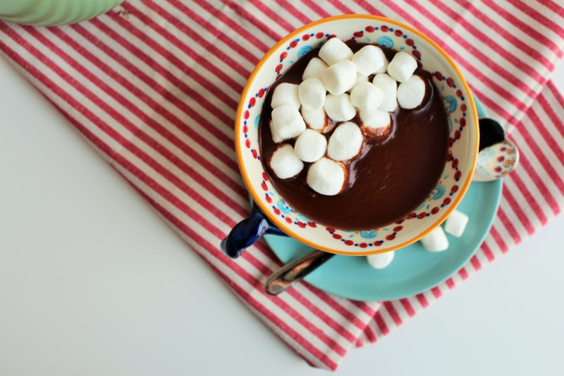 Chocolate quente Nutella 4