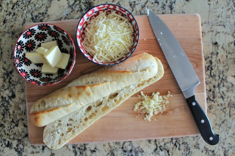 Pão de alho com queijo 2