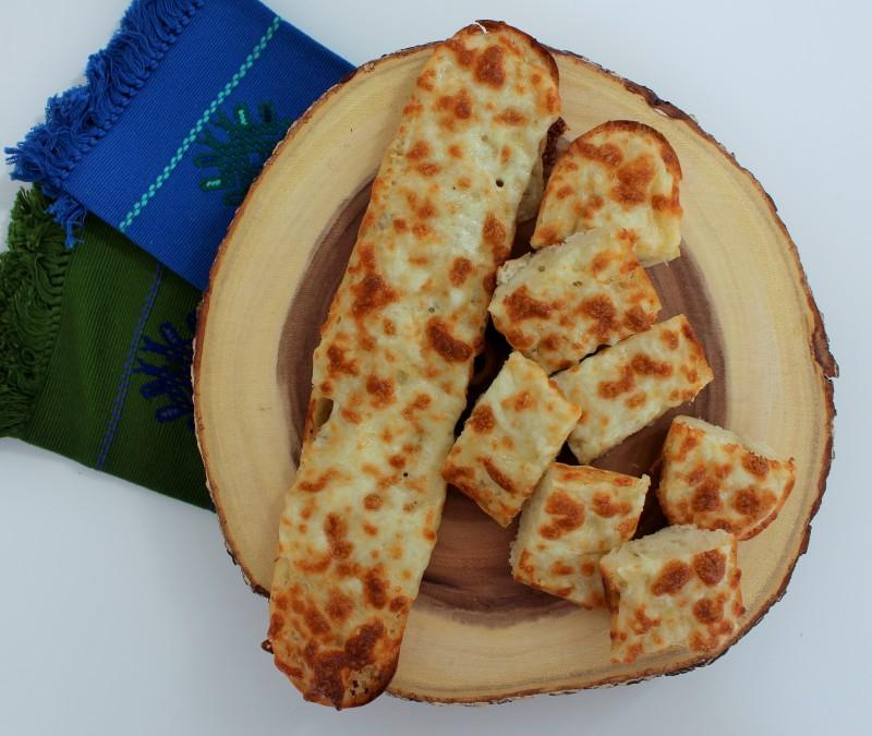 Pão de alho com queijo 7