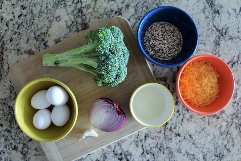Torta de Quinoa e Brócolis 1