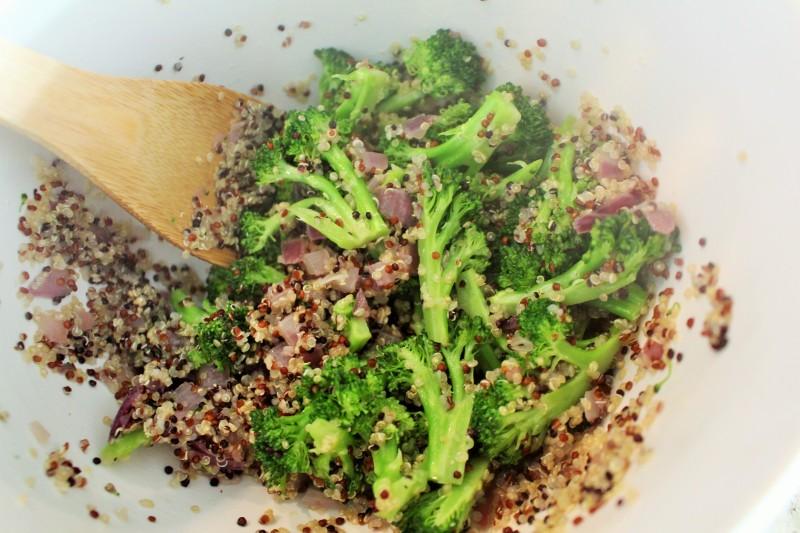 Torta de Quinoa e Brócolis 4