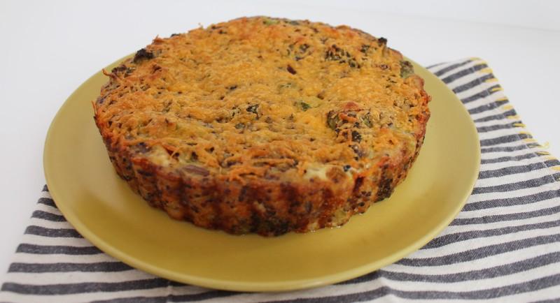 Torta de Quinoa e Brócolis 7