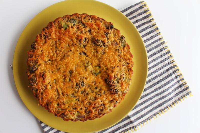 Torta de Quinoa e Brócolis 8