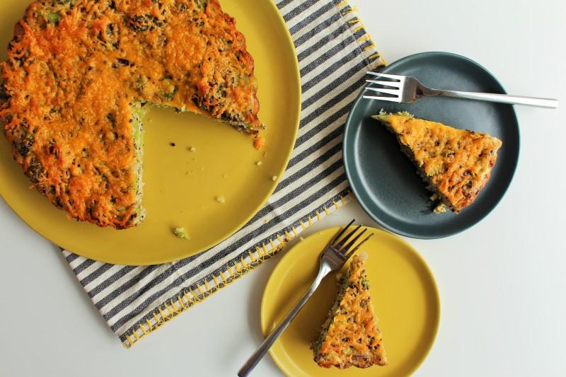 Torta de Quinoa e Brócolis 9