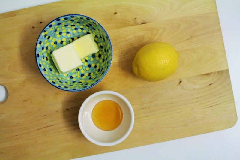 Manteiga com limão e mel 1