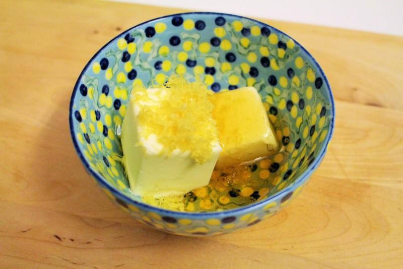Manteiga com limão e mel 2