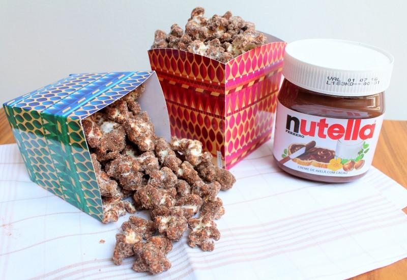 Pipoca de Nutella 5