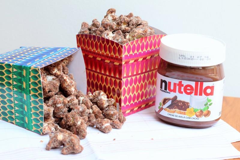 Pipoca de Nutella 7