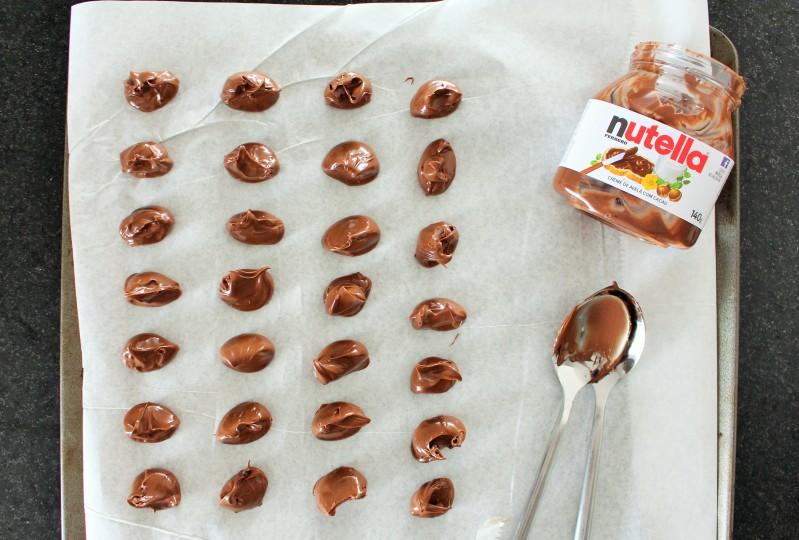 Cookies rechados de Nutella 2