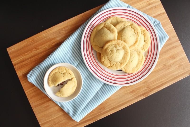 Cookies rechados de Nutella 6