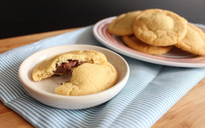 Cookies rechados de Nutella 7