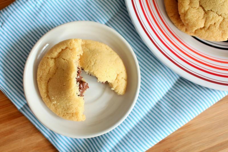 Cookies rechados de Nutella 8
