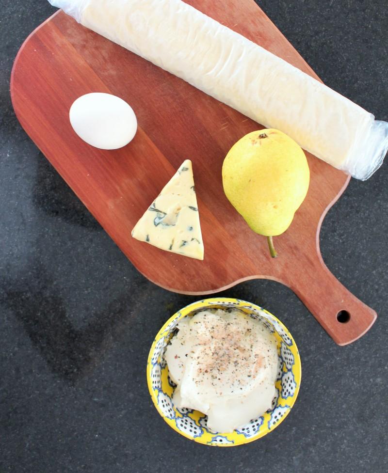 Torta de gorgonzola pera 1